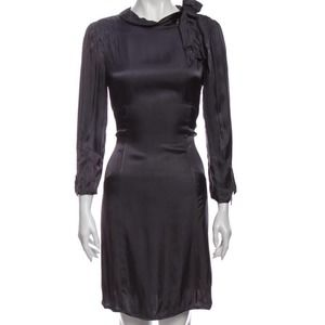 Marc by Marc Jacobs Long Sleeve Tie Neck Dress 6